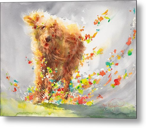 Dog-fetti - Metal Print