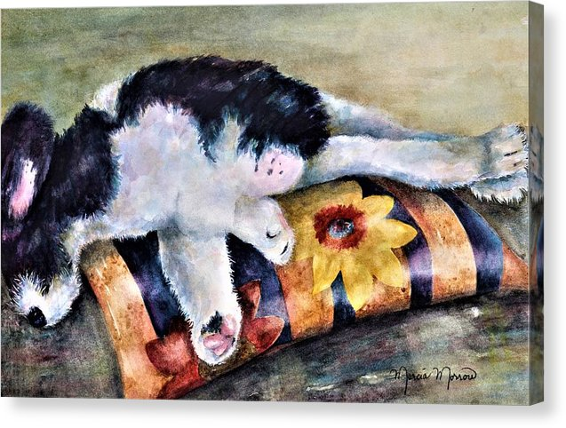 Dog Tired - Canvas Print