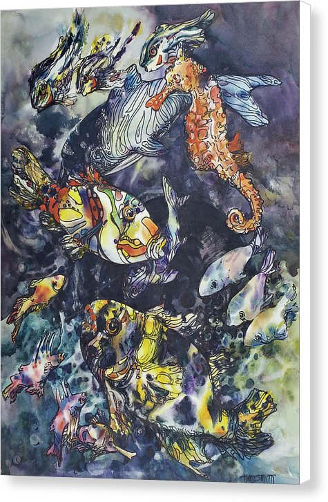 Favorite Fishes - Canvas Print