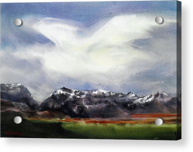 Flight Over The Sierras - Acrylic Print