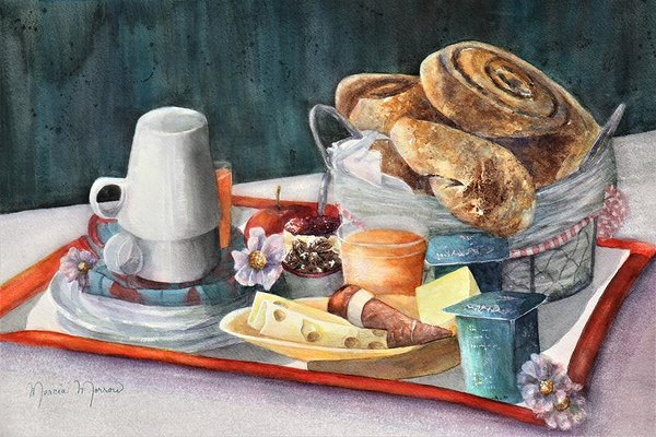 French Breakfast - Art Print