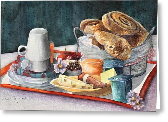 French Breakfast - Greeting Card