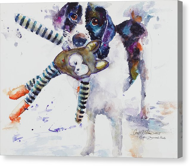 Go Fetch - Canvas Print