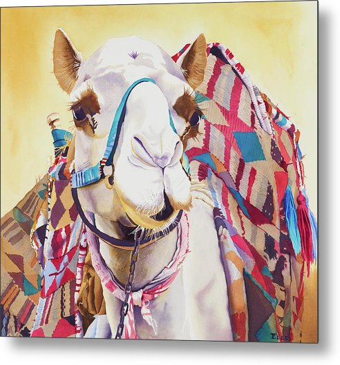 God Laughed When He Made A Camel - Metal Print