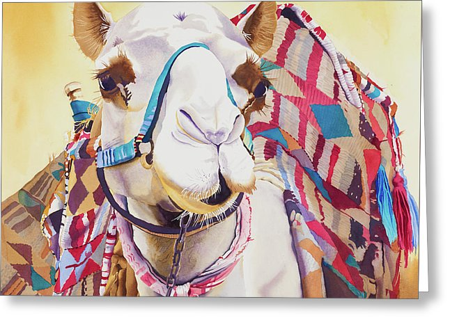 God Laughed When He Made A Camel - Greeting Card