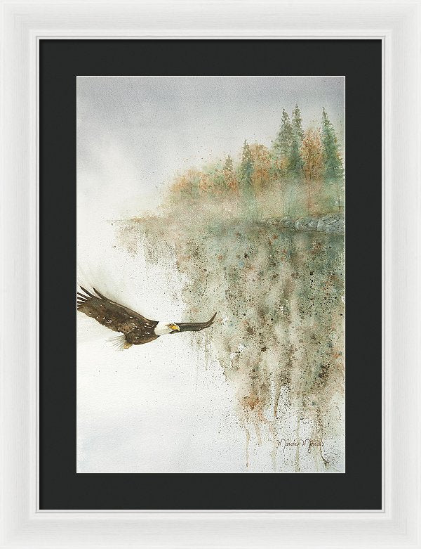 Going Home - Framed Print