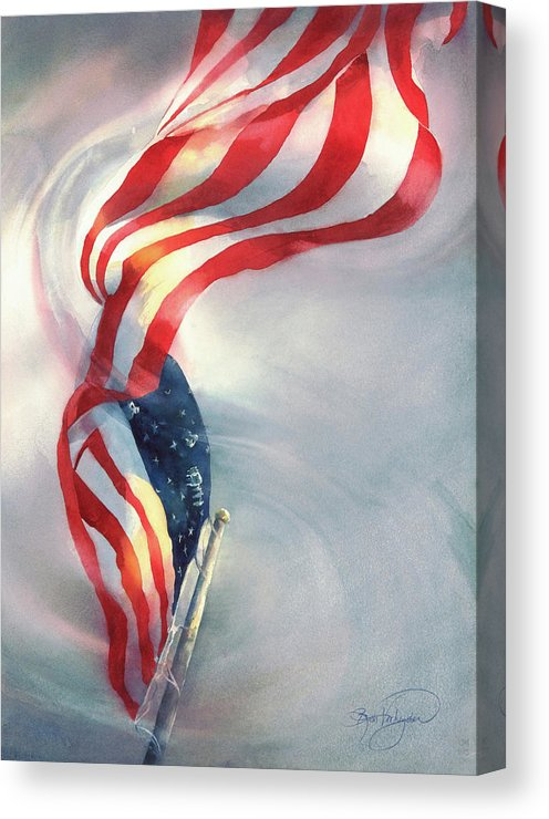 Gratefully, I Stand - Canvas Print