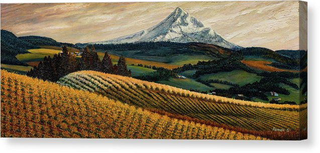 Hood River Valley Afternoon - Canvas Print