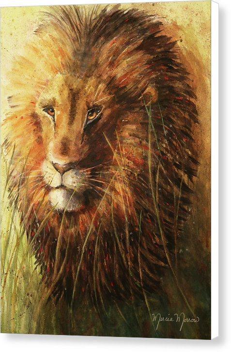 Kenyan King - Canvas Print