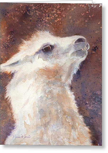 Llamatude - Greeting Card