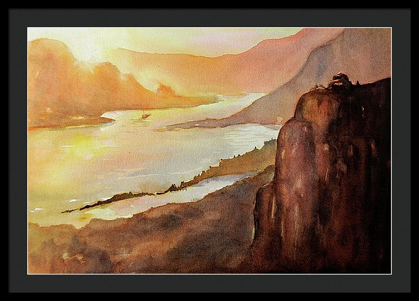 Morning Glory - Framed Print