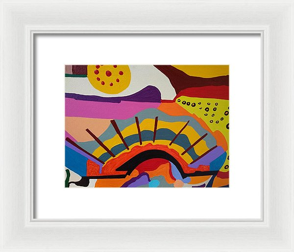 Morning Sun - Framed Print