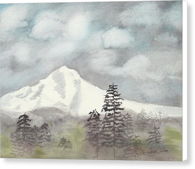 Mt. Hood In The Fall - Canvas Print