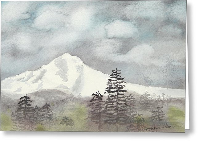 Mt. Hood In The Fall - Greeting Card