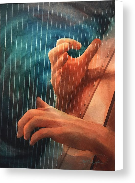 Pachelbel Canon In D - Canvas Print