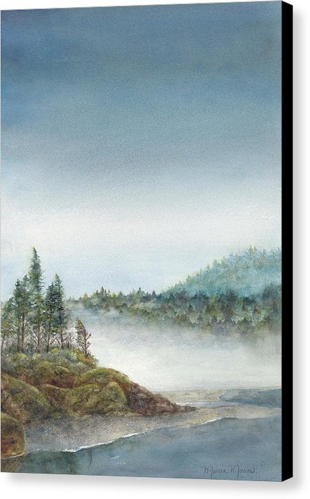 Pacific Mist - Canvas Print