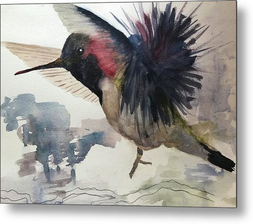 Party Bird - Metal Print