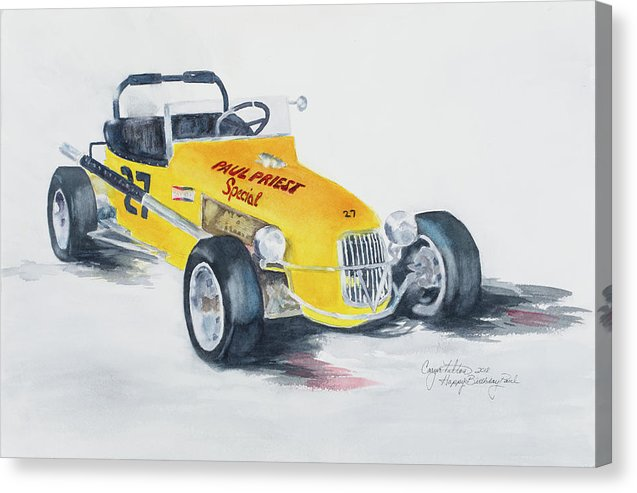 Paul Priest Special  - Canvas Print