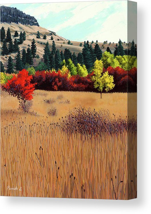 Red Tree - Canvas Print