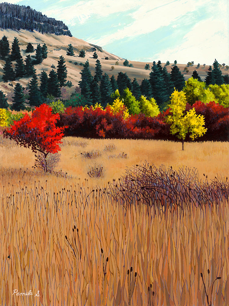 Red Tree - Giclee Print