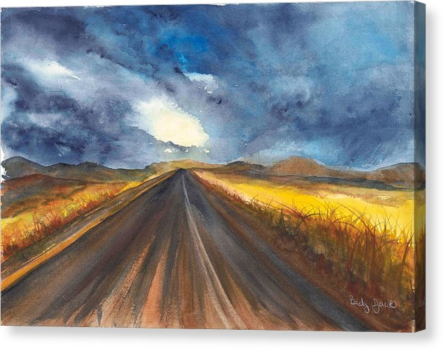 Road Home - Canvas Print