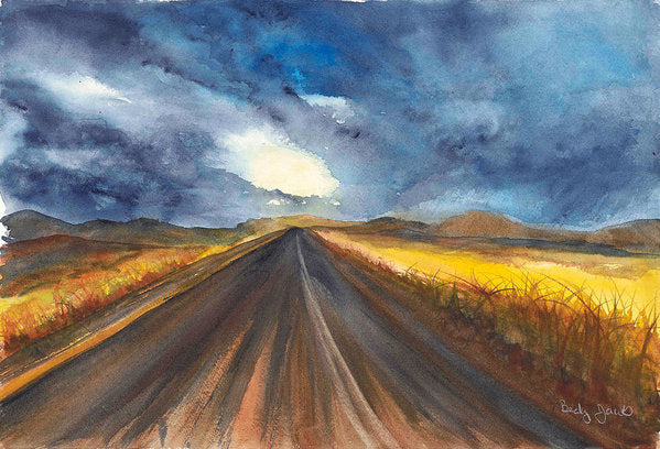 Road Home - Art Print
