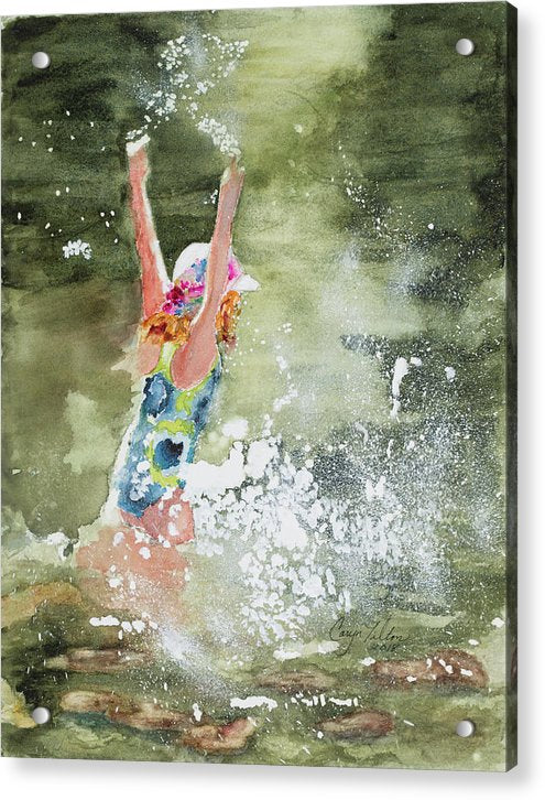Summer Fun - Acrylic Print