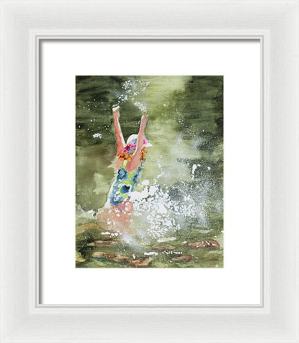 Summer Fun - Framed Print