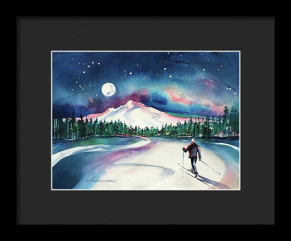 Super Moon - Framed Print