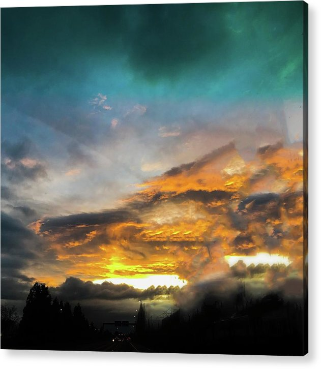 The Eye Of The Storm  - Acrylic Print