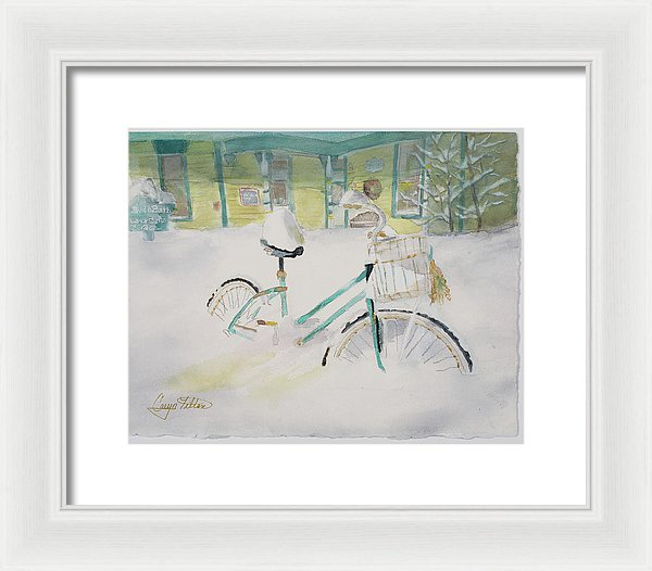 The Road Less Traveled - Framed Print