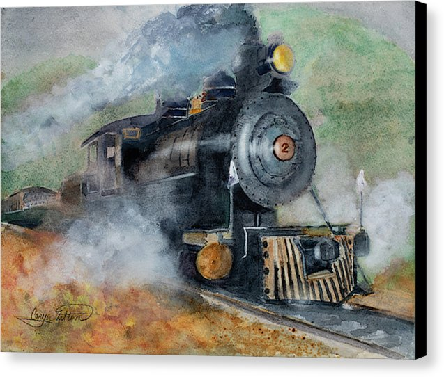 The Rockaway Beach Express - Canvas Print