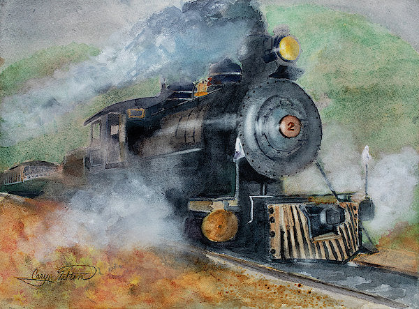 The Rockaway Beach Express - Art Print