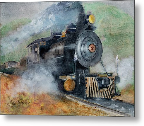 The Rockaway Beach Express - Metal Print