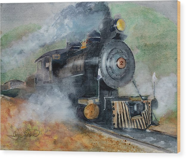 The Rockaway Beach Express - Wood Print