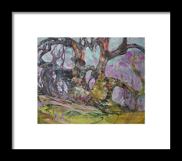 The Wonder Of Trees - Framed Print