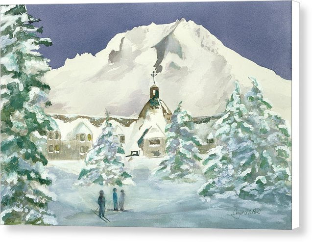 Timberline Lodge, Or - Canvas Print
