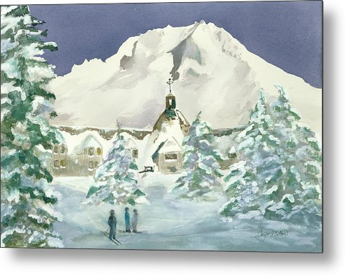 Timberline Lodge, Or - Metal Print