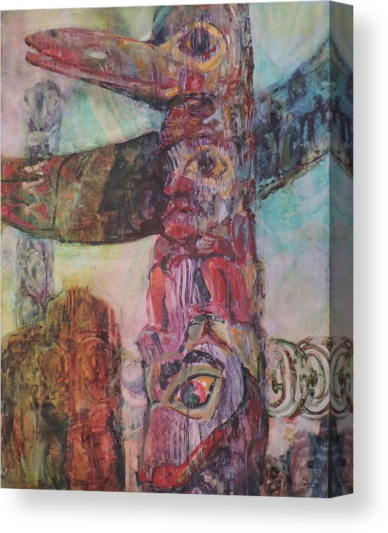 Totem Eyes - Canvas Print
