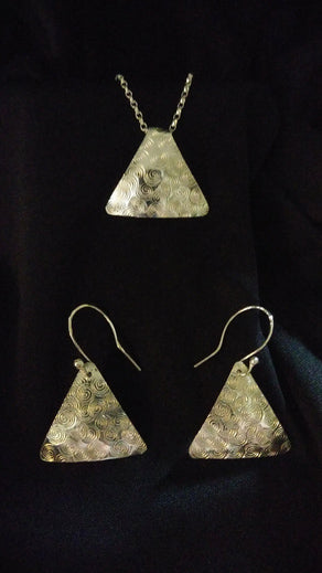 Sterling Silver Triangle
