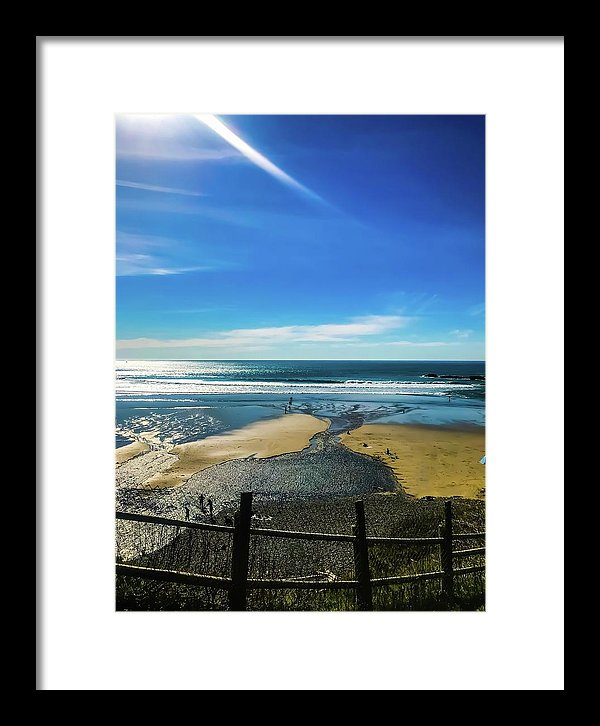 Waterway - Framed Print
