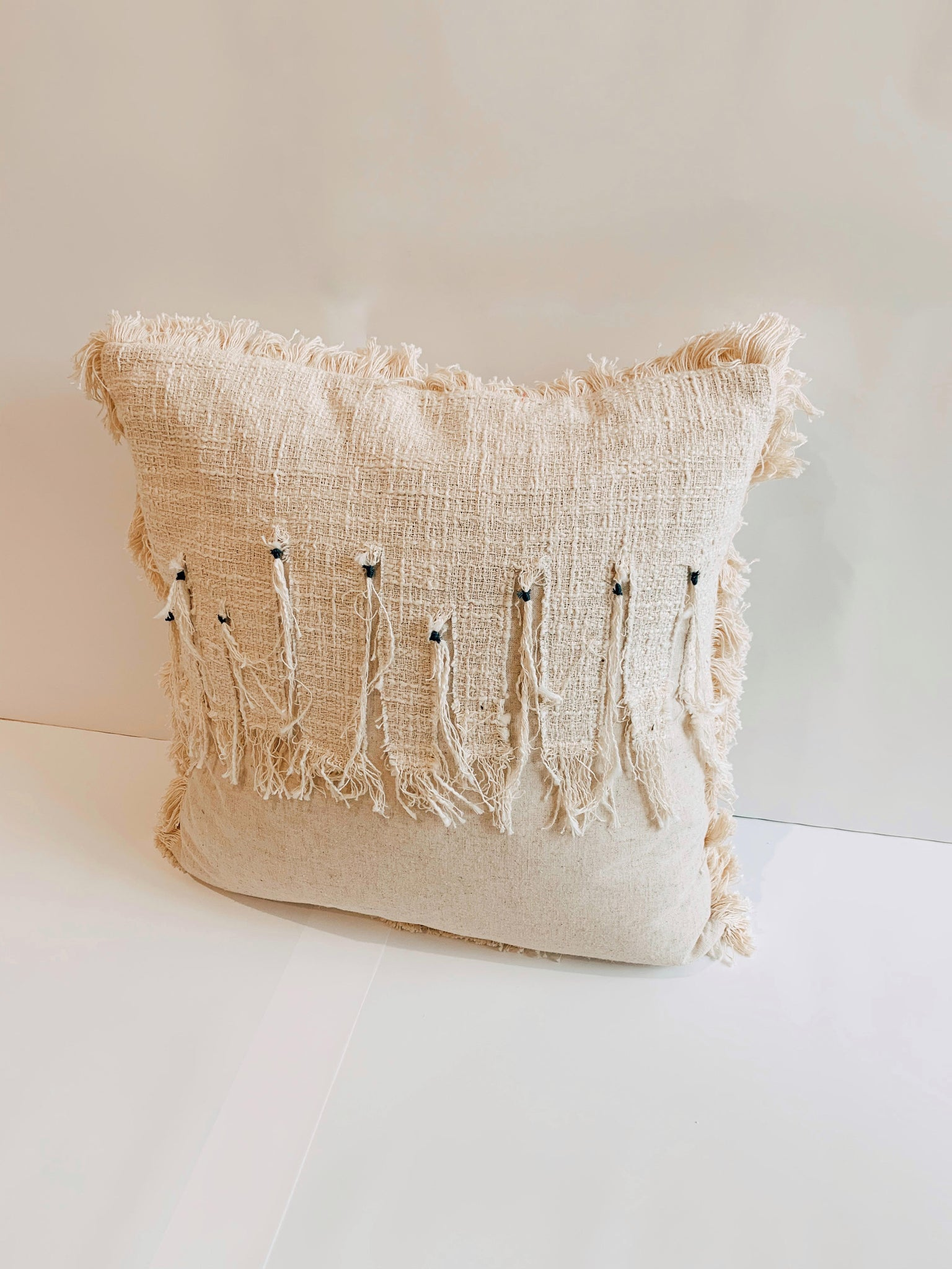 Natural Weave Cushion