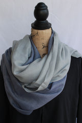 Kasmiri Scarf-Light Blue