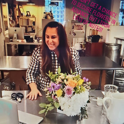 PRIVATE EVENT:  Girls Night Virtual Floral Design Workshop