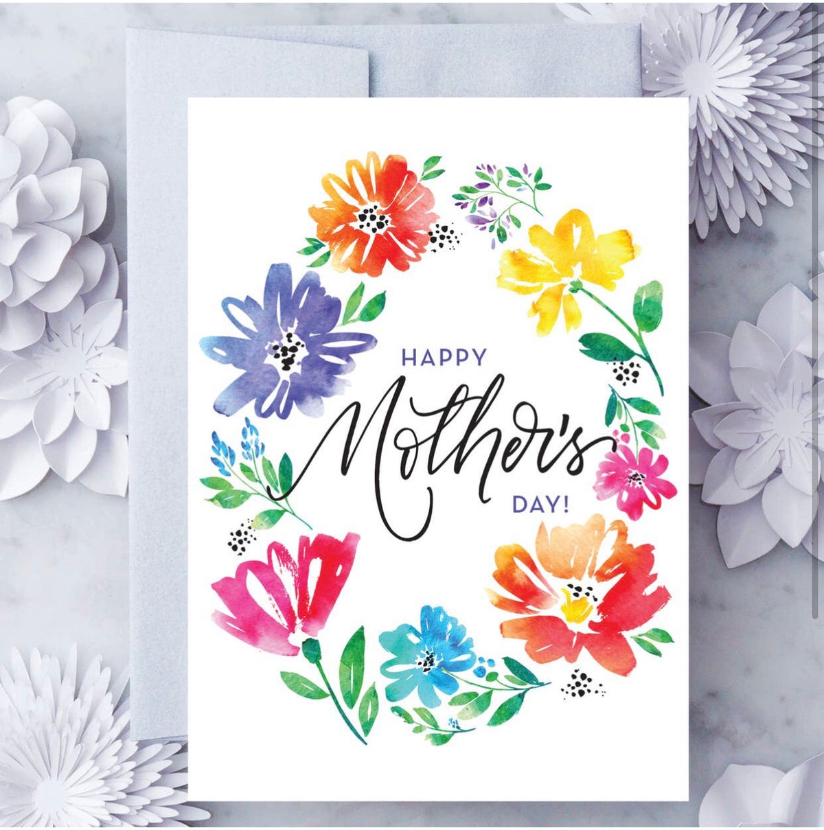 Mother's Day Card - Spring Floral MD