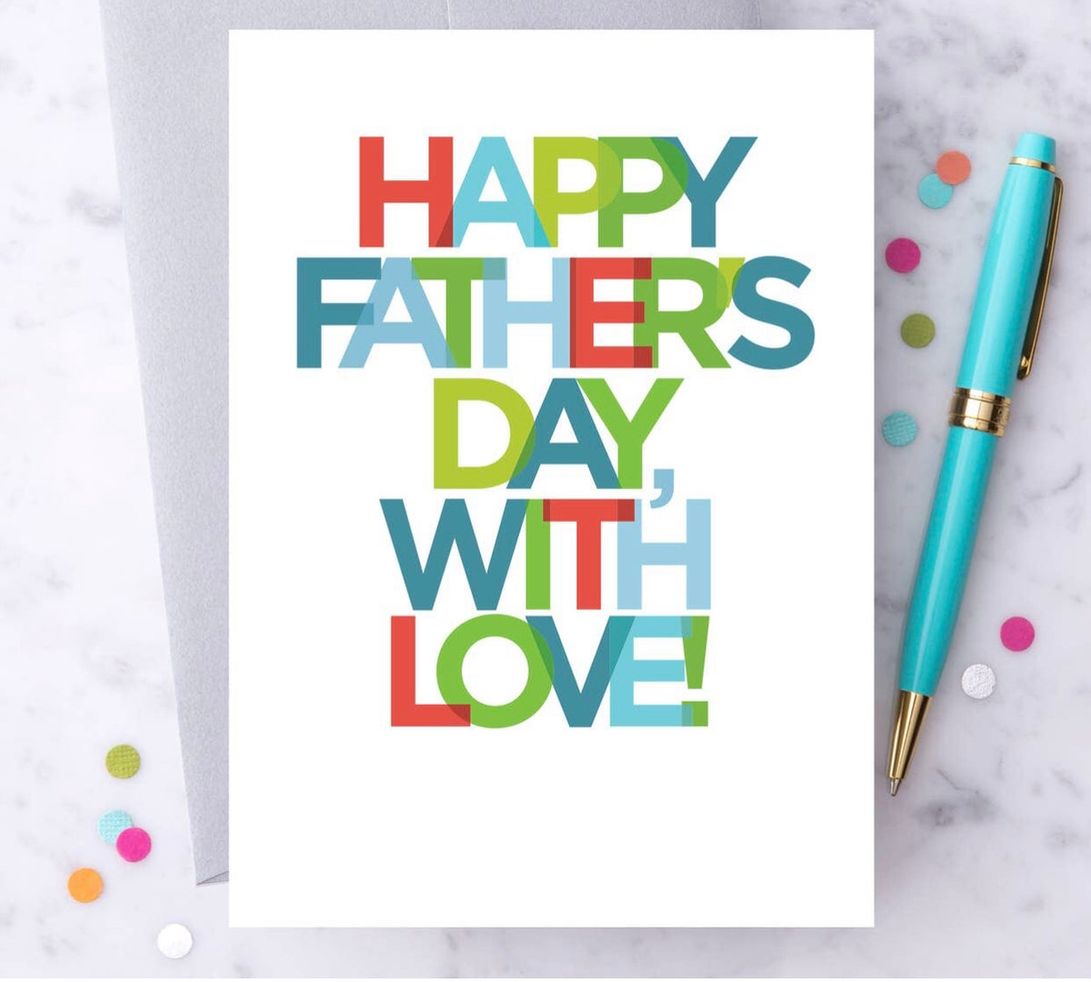 Father's Day Card - With Love