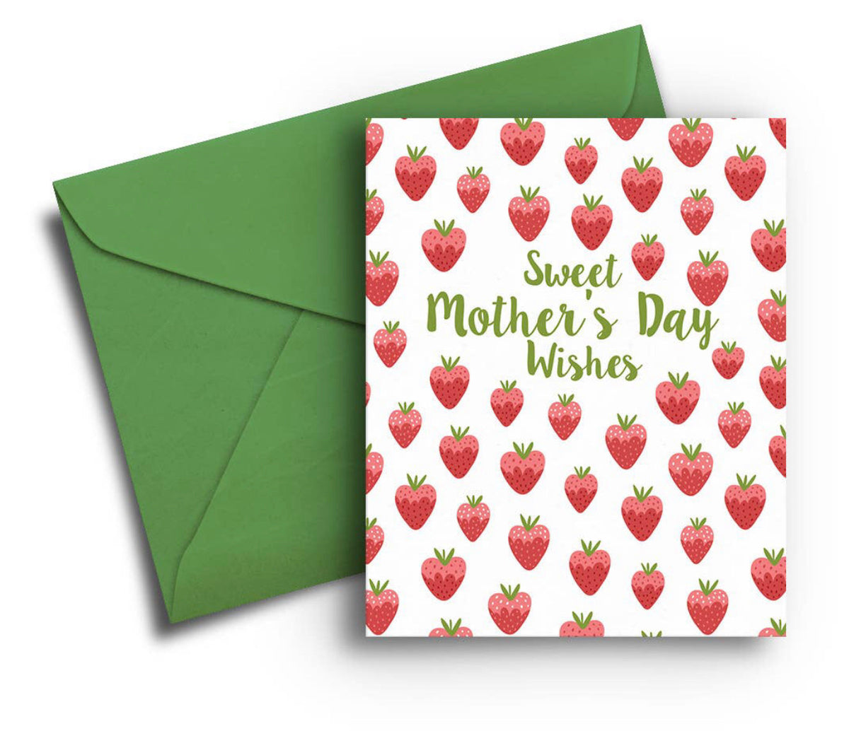 Mother's Day Card - Sweet Strawberries