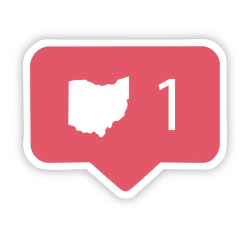Love Ohio Sticker