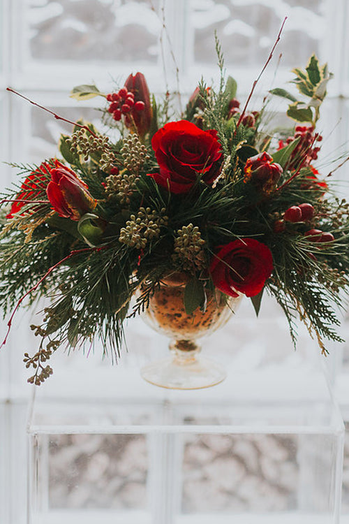 Holiday Table Centerpiece