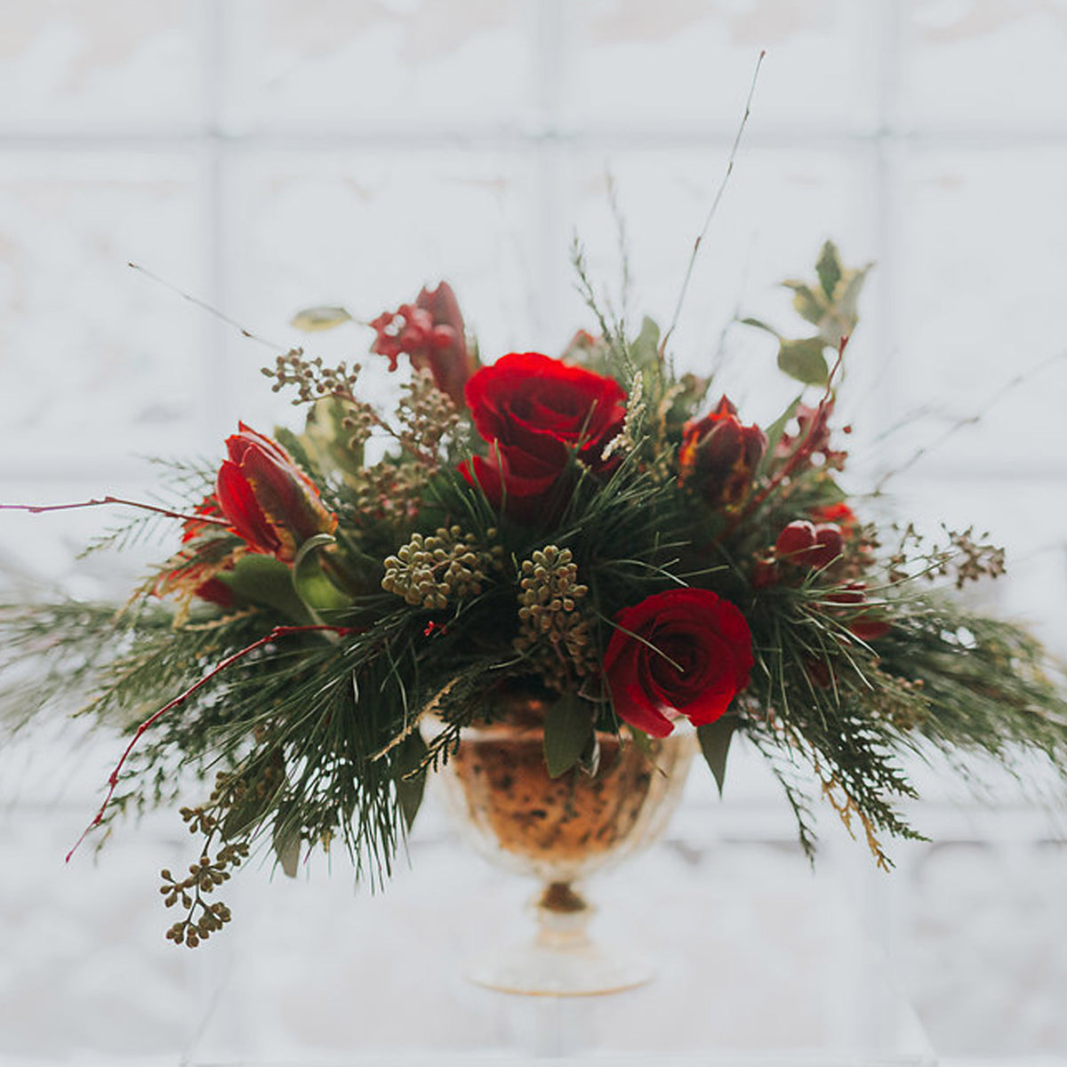 Floral Design Experience - A Holiday Centerpiece Workshop